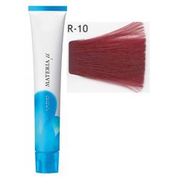 Lebel Cosmetics Materia µ - Полуперманентная краска для волос, R10 яркий блонд красный 80 гр