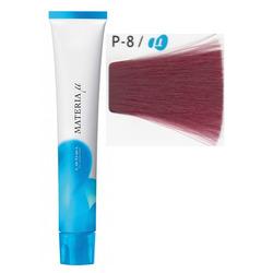 Lebel Cosmetics Materia µ - Полуперманентная краска для волос, P8 светлый блонд розовый 80 гр