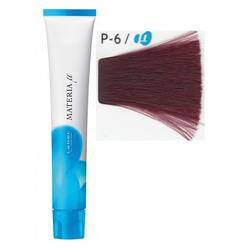 Lebel Cosmetics Materia µ - Полуперманентная краска для волос, P6 тёмный блонд розовый 80 гр