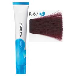 Lebel Cosmetics Materia µ - Полуперманентная краска для волос, R6 тёмный блонд красный 80 гр