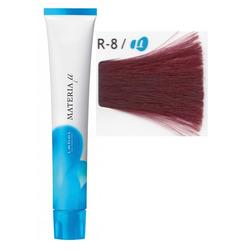 Lebel Cosmetics Materia µ - Полуперманентная краска для волос, R8 светлый блонд красный 80 гр