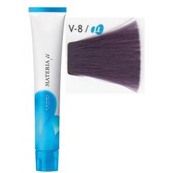 Lebel Cosmetics Materia µ - Полуперманентная краска для волос, V8 светлый блонд фиолетовый 80 гр