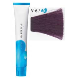 Lebel Cosmetics Materia µ - Полуперманентная краска для волос, V6 тёмный блонд фиолетовый 80 гр