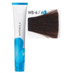 Lebel Cosmetics Materia µ - Полуперманентная краска для волос, WB6 тёмный блонд тёплый 80 гр
