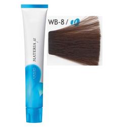 Lebel Cosmetics Materia µ - Полуперманентная краска для волос, WB8 светлый блонд теплый 80 гр