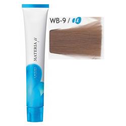 Lebel Cosmetics Materia µ - Полуперманентная краска для волос, WB9 очень светлый блонд теплый 80 гр