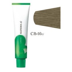 Lebel Cosmetics Materia g - Перманентная краска для седых волос, CB-10 яркий блонд холодный 120 гр