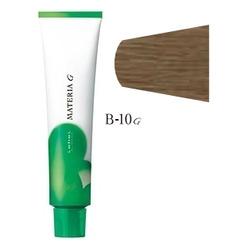 Lebel Cosmetics Materia g - Перманентная краска для седых волос, B-10 яркий блонд коричневый 120 гр