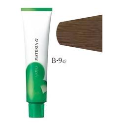 Lebel Cosmetics Materia g - Перманентная краска для седых волос, B-9 очень светлый блонд коричневый 120 гр