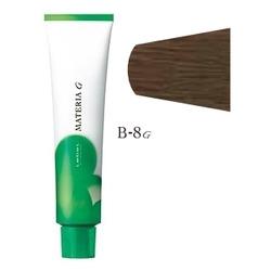 Lebel Cosmetics Materia g - Перманентная краска для седых волос, B-8 светлый блонд коричневый 120 гр