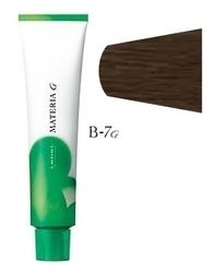 Lebel Cosmetics Materia g - Перманентная краска для седых волос, B-7 блонд коричневый 120 гр