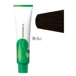 Lebel Cosmetics Materia g - Перманентная краска для седых волос, B-5 светлый шатен коричневый 120 гр