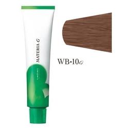 Lebel Cosmetics Materia g - Перманентная краска для седых волос, WB-10 яркий блонд теплый 120 гр