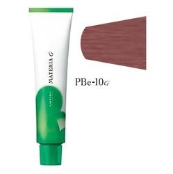 Lebel Cosmetics Materia g - Перманентная краска для седых волос, PBE-10 яркий блонд розово-бежевый 120 гр