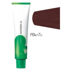 Lebel Cosmetics Materia g - Перманентная краска для седых волос, PBE-7 блонд розово-бежевый 120 гр