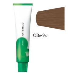 Lebel Cosmetics Materia g - Перманентная краска для седых волос, OBE-9 очень светлый блонд оранжево-бежевый 120 гр
