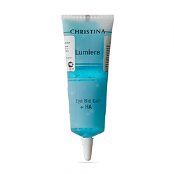 Christina Eye & Neck Bio Gel + HA - Lumiere - Гель для кожи век и шеи с комплексом дерма-витаминов и гиалуроновой кислотой 30 мл