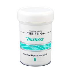 Christina Unstress Optimal Hydration Mask -Оптимальная увлажняющая маска 250 мл