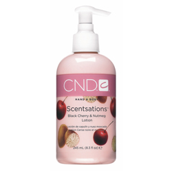 CND Scentsations Black Cherry & Nutmeg Lotion - Лосьон для рук и тела «Вишня - Мускатный орех» 245 мл