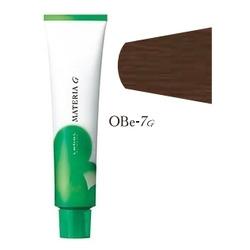 Lebel Cosmetics Materia g - Перманентная краска для седых волос, OBE-7 блонд оранжево-бежевый 120 гр