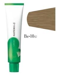 Lebel Cosmetics Materia g - Перманентная краска для седых волос, BE-10 яркий блонд бежевый 120 гр