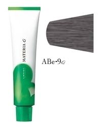 Lebel Cosmetics Materia g - Перманентная краска для седых волос, ABE-9 очень светлый блонд пепельно-бежевый 120 гр