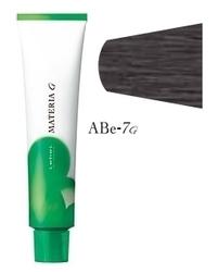 Lebel Cosmetics Materia g - Перманентная краска для седых волос, ABE-7 блонд пепельно-бежевый 120 гр