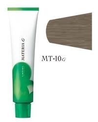 Lebel Cosmetics Materia g - Перманентная краска для седых волос, MT-10 яркий блонд металлик 120 гр
