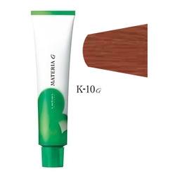 Lebel Cosmetics Materia g - Перманентная краска для седых волос, K-10 яркий блонд медный 120 гр