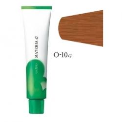 Lebel Cosmetics Materia g - Перманентная краска для седых волос, O-10 яркий блонд оранжевый 120 гр