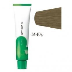 Lebel Cosmetics Materia g - Перманентная краска для седых волос, M-10 яркий блонд матовый 120 гр