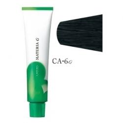 Lebel Cosmetics Materia g - Перманентная краска для седых волос, CA-6 темный блонд пепельный кобальт 120 гр