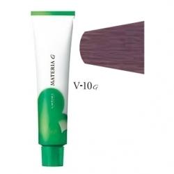 Lebel Cosmetics Materia g - Перманентная краска для седых волос, V-10 яркий блонд фиолетовый 120 гр