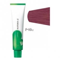 Lebel Cosmetics Materia g - Перманентная краска для седых волос, P-10 яркий блонд розовый 120 гр