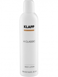 Klapp A Classic Body Lotion - Лосьон для тела с витамином А, 200 мл