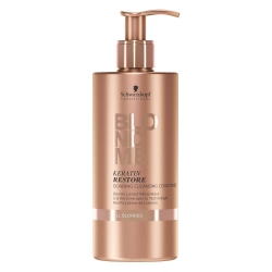 Schwarzkopf BlondMe Keratin Restore Bonding Cleansing Conditioner - Очищающий кондиционер, 500 мл