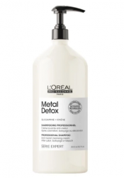 L'Oreal Professionnel Metal Detox Shampoo - Очищающий крем-шампунь1500 мл