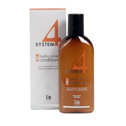 Sim Sensitive System 4 Therapeutic Hydro Care Conditioner H - Терапевтический бальзам Н для нормальных, сухих и поврежденных окрашиванием волос 215 мл
