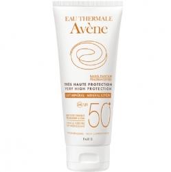 Avene Soins Solaires - Солнцезащитное молочко SPF 50 c минеральным экраном 100 мл