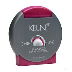 Keune Care Line Keratin Smoothing Shampoo - Шампунь Кератиновый комплекс 250 мл