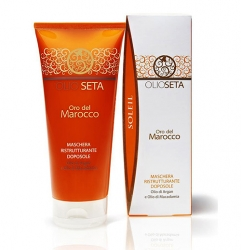 Barex Olioseta Oro Del Marocco - Восстанавливающая маска для волос после загара, 200 мл