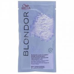 Wella Blondor - Порошок для блондирования без образования пыли, 30 гр