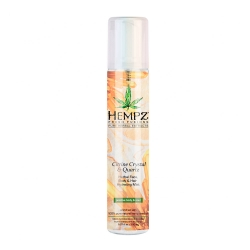 Hempz Citrine Crystal & Quartz Herbal Face, Body & Hair Hydrating Mist - Спрей увлажняющий для лица, тела и волос с мерцающим эффектом Желтый Кварц, 150 мл