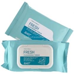 Tony Moly Blast Fresh Cleansing Tissue - Влажные салфетки для снятия макияжа