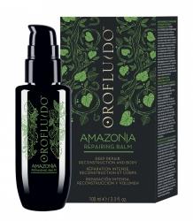 Orofluido Amazonia Repairing Balm - Несмываемый восстанавливающий бальзам для ослабленных и поврежденных волос 100 мл