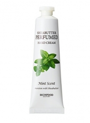 Skinfood Shea Butter Perfumed Hand Cream Mint Scent - Крем для рук парфюмированный, 30 мл