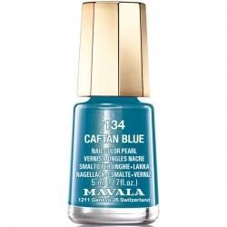 Mavala - Лак для ногтей тон 134 Синий бархат/Caftan Blue, 5 мл