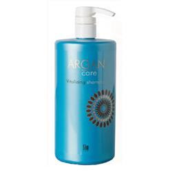 Sim Sensitive Argan Care Vitalizing Shampoo - Увлажняющий шампунь для окрашенных и поврежденных волос 1000 мл