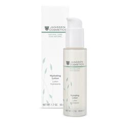 Janssen Organics Hydrating Lotion - Интенсивно увлажняющая эмульсия для упругости и эластичности кожи 50 мл
