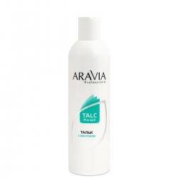 Aravia Professional - Тальк с ментолом, 180 г